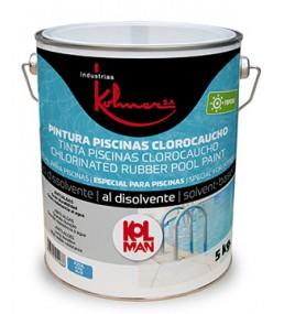Pintura de piscinas clorocaucho kolmer papcae - Pintura piscina clorocaucho ...