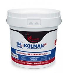 Pintura de fachadas Kolmansil siliconada