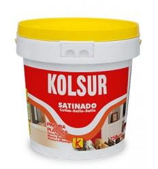 Pintura plástica satinada Kolsur