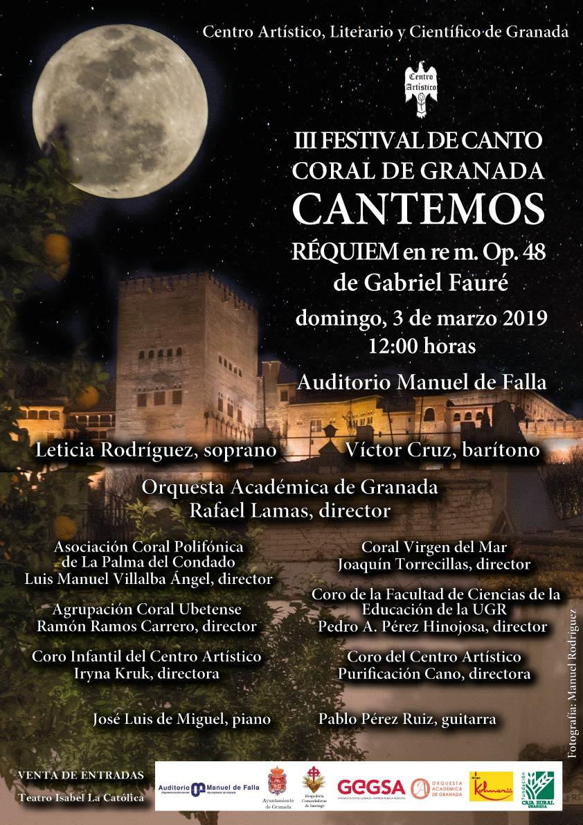 III FESTIVAL DE CANTO CORAL DE GRANADA