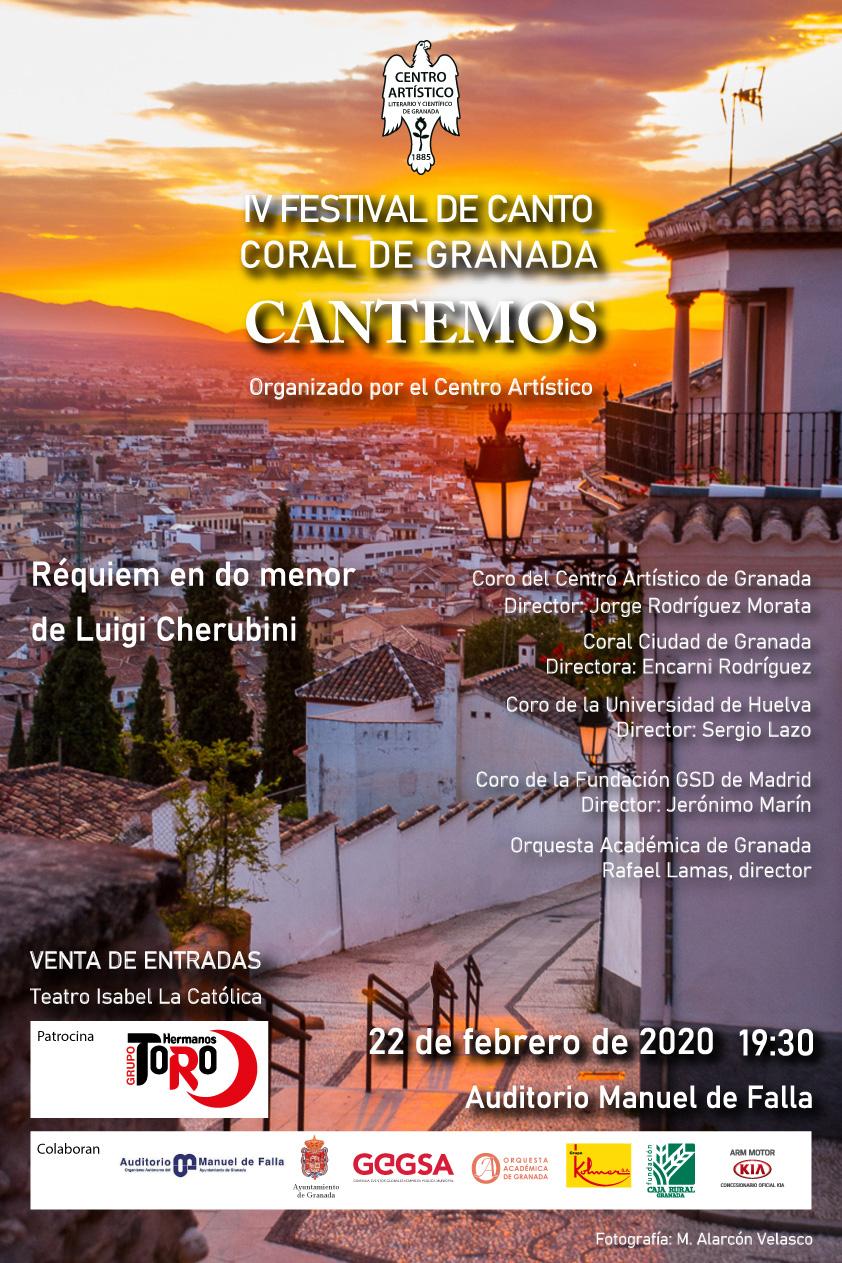 IV FESTIVAS DE CANTO CORAL DE GRANADA